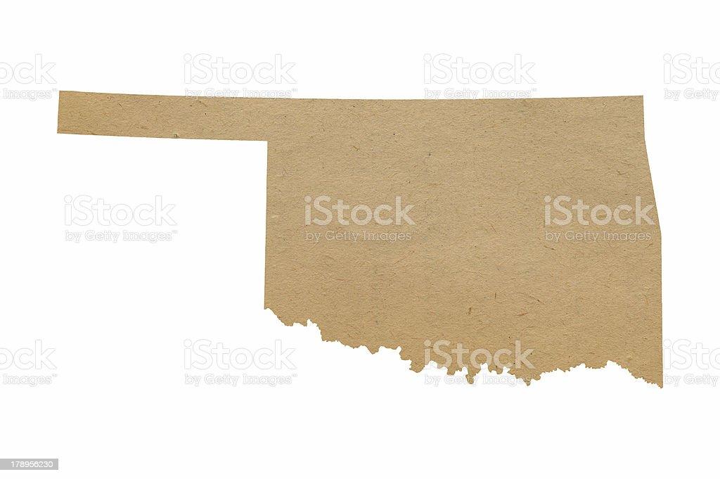 Oklahoma Recycles royalty-free stock photo