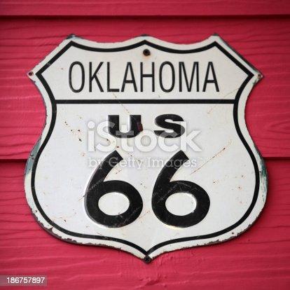 istock Oklahoma US 66 186757897