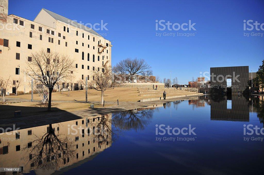 Oklahoma-City, OK, USA: Oklahoma City National Memorial royalty-free stock photo