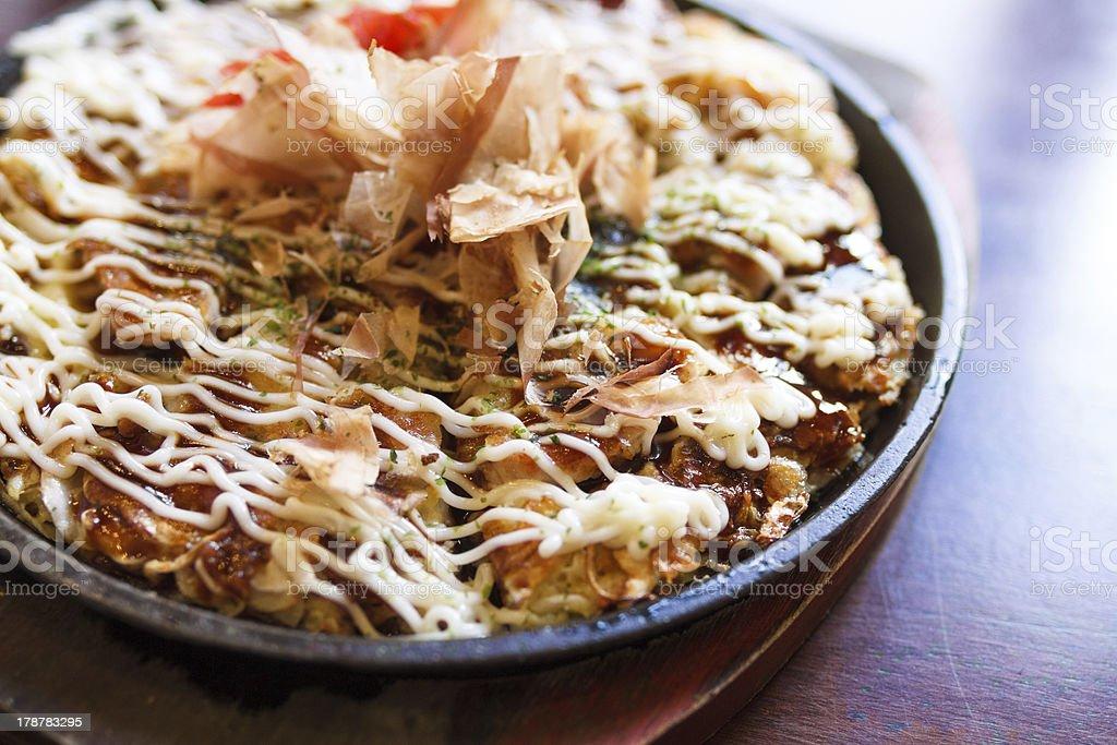 okonomiyaki royalty-free stock photo