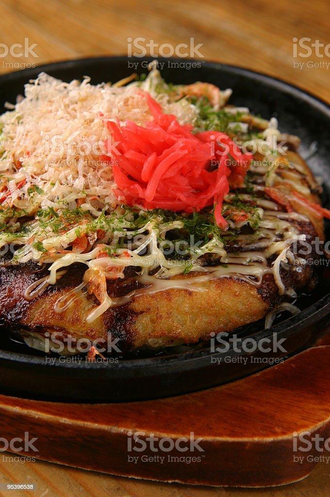 okonomiyaki Lizenzfreies stock-foto