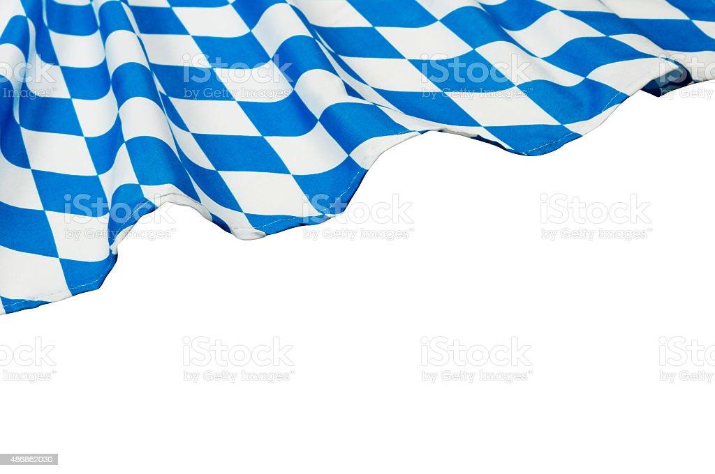 Oktoberfest Hintergrund – Blue Rhombus-Muster Stoffe – Foto