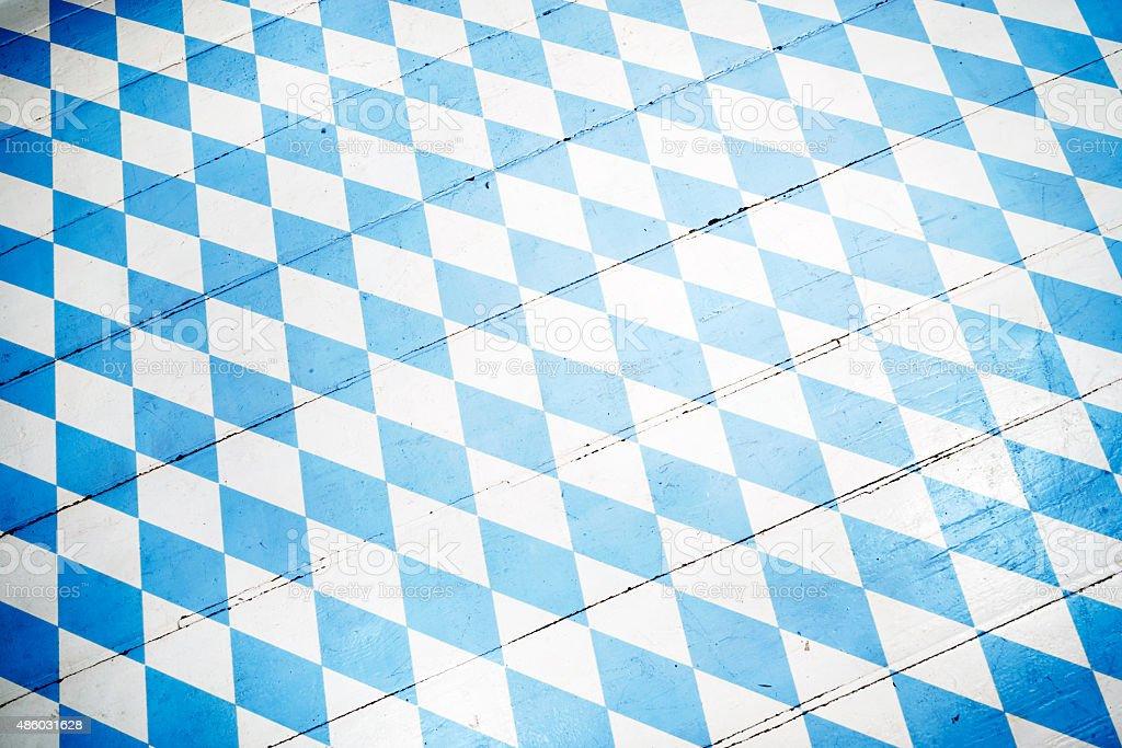 Oktoberfest Hintergrund – Blue Rhombus-Muster – Foto