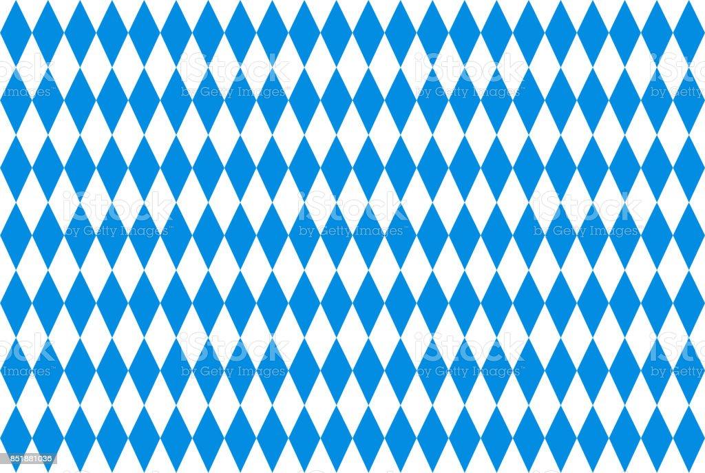 Fondo de Oktoberfest con azul rombo repetible facturado - foto de stock