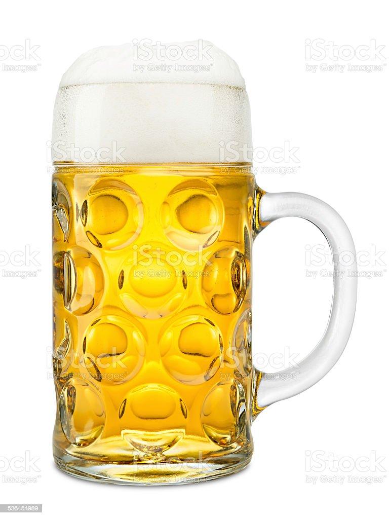 Oktoberfest beer stock photo