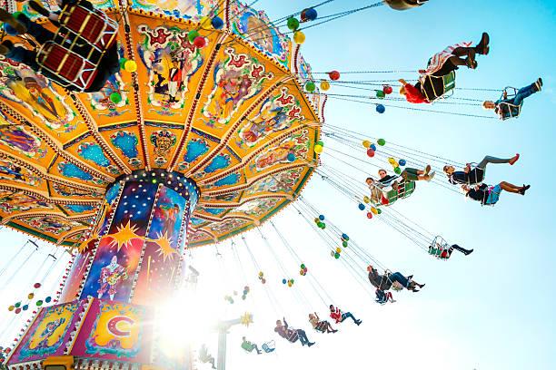 Oktoberfest Carousel stock photo