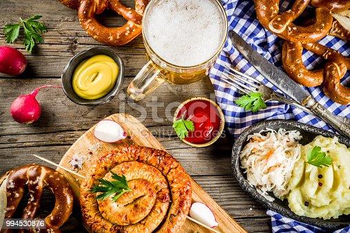 istock Oktoberfest food concept 994530876