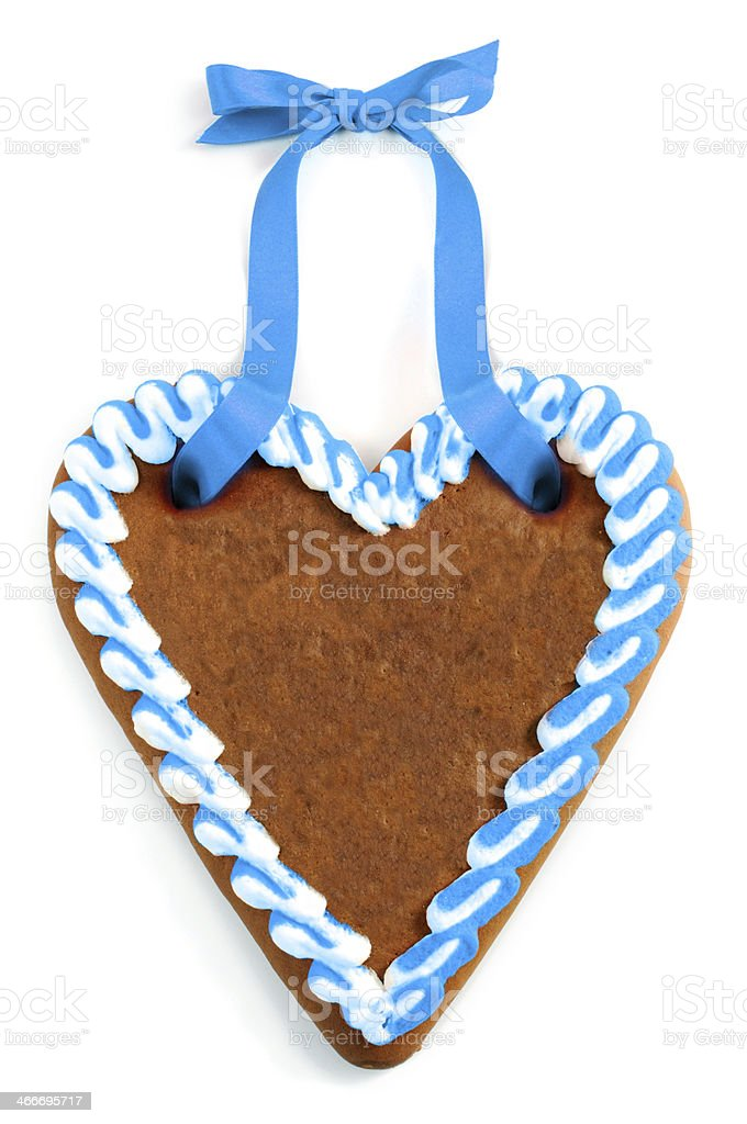 Oktoberfest Gingerbread stock photo