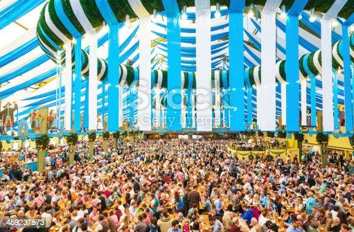 istock Oktoberfest in Munich, Germany 459237573