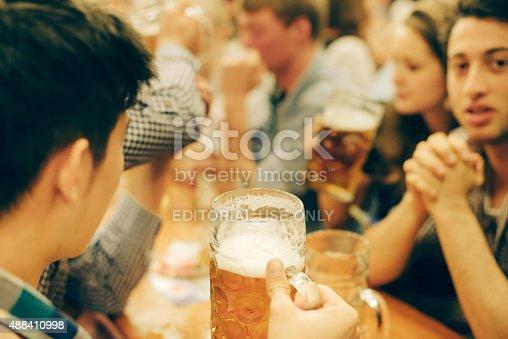 istock Oktoberfest in Munich, Germany 488410998