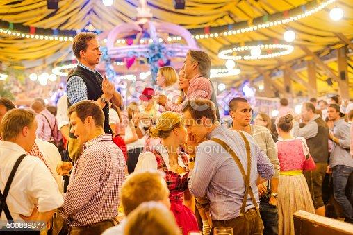 istock Oktoberfest in Munich, Germany 500889377