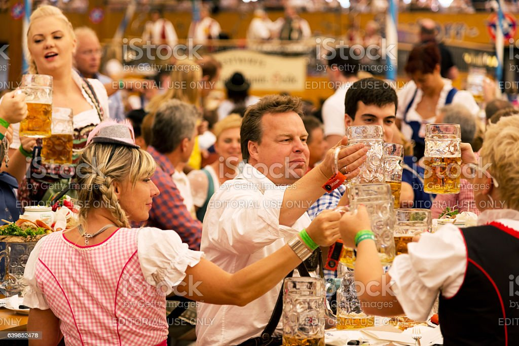 Oktoberfest in Munich, Germany stock photo