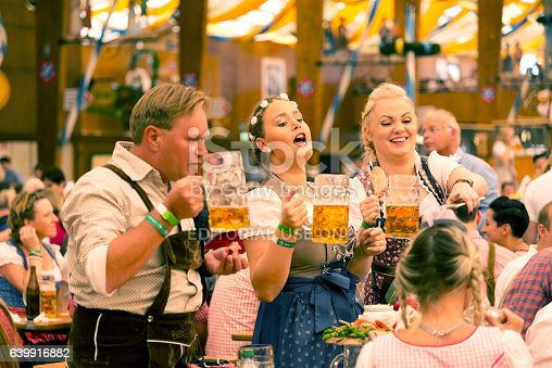 istock Oktoberfest in Munich, Germany 639916882