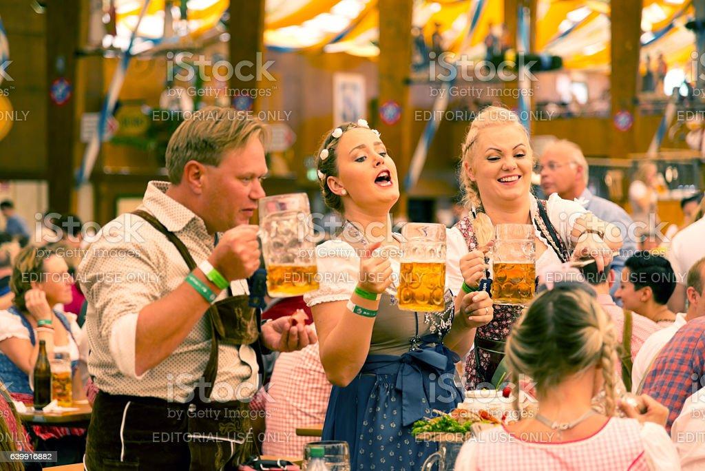 Oktoberfest en Munich, Alemania  - foto de stock