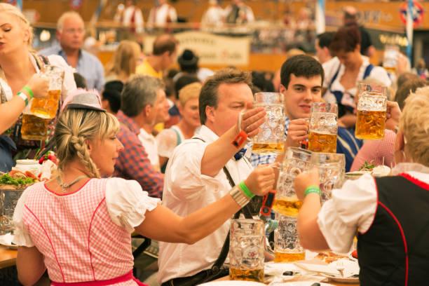 Oktoberfest in München, Deutschland – Foto