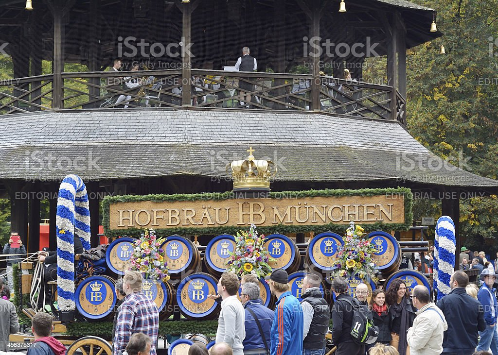oktoberfest in the english garden stock photo istock. Black Bedroom Furniture Sets. Home Design Ideas