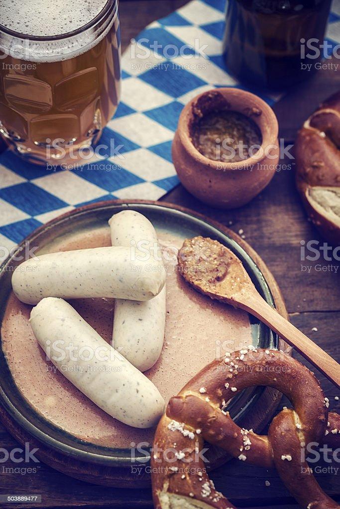 Oktoberfest Meal stock photo