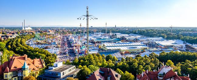 Oktoberfest München Bayern Stockfoto und mehr Bilder von Ansicht von oben