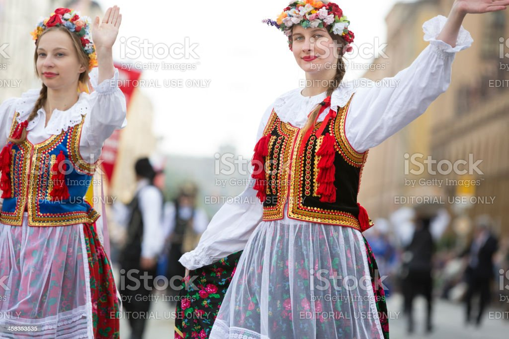 The traditional costume and riflemens parade through Munich was held...