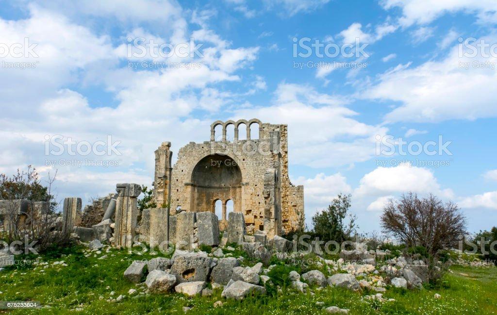Okuzlu ruins From Mersin in Turkey royalty-free stock photo