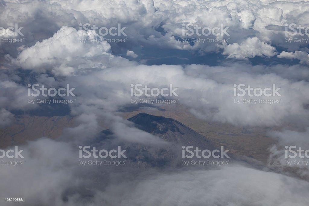 Ol Doinyo Lengai Mountain stock photo