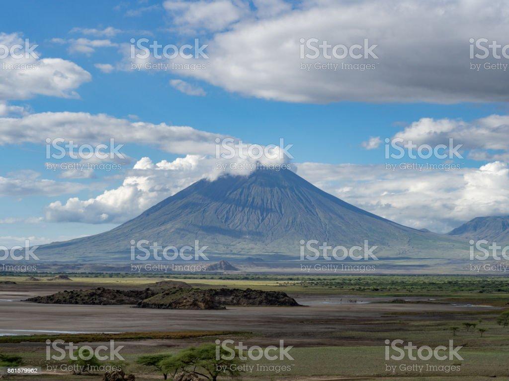 Ol Doinyo Lengai stock photo
