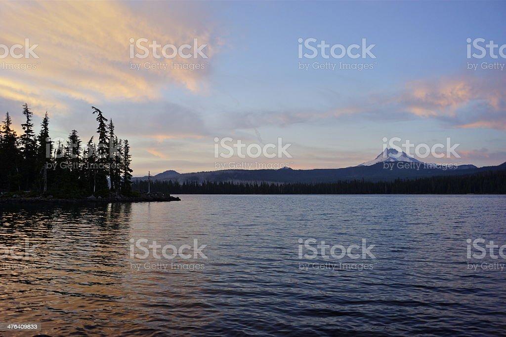 Olallie Lake stock photo