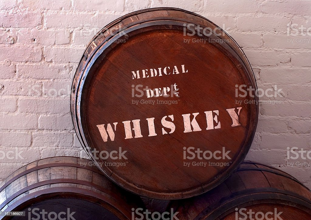 old 1800s medicinal whiskey barrel stock photo more pictures of