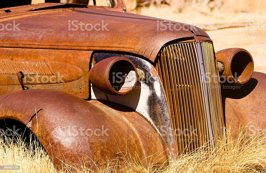 Old 1935 Car royalty free stockfoto