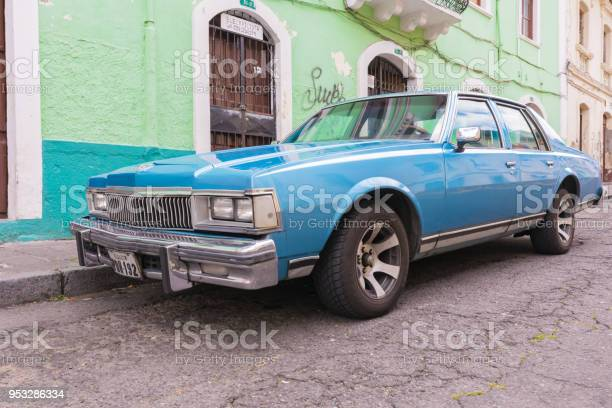 old 1980 Chevrolet car Quito