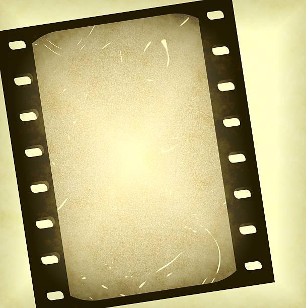 Old 35mm slide stock photo