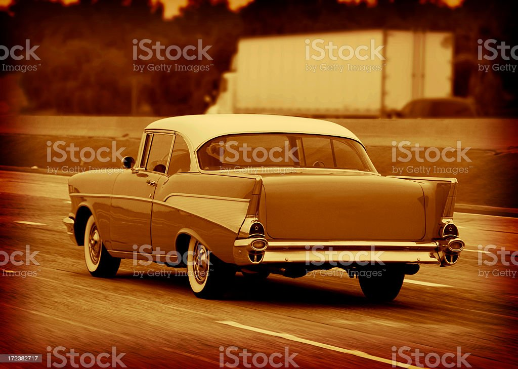 Old 57 royalty-free stock photo