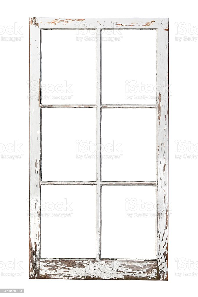 Old 6 Pane Window Stock Photo & More Pictures of Antique | iStock