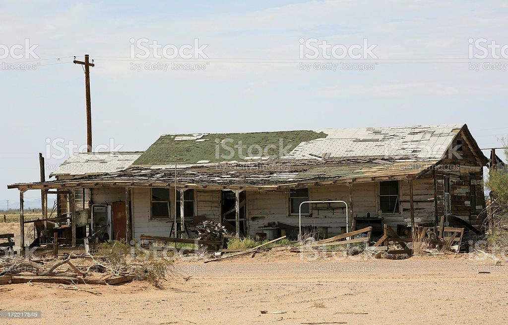 Alten verlassenen Haus – Foto