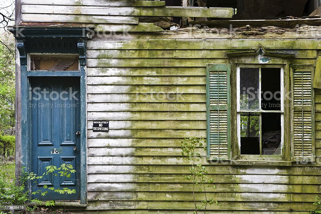Old Abandoned House royalty-free stock photo