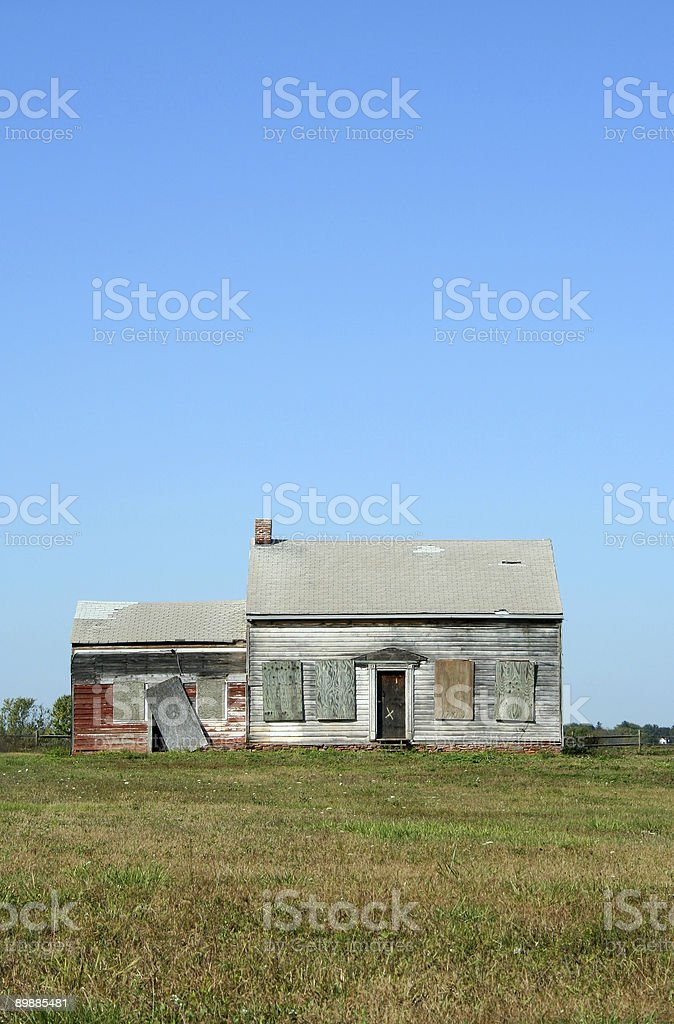 Old abandoned house royalty-free stock photo