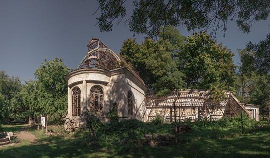Old abandoned sanatorium