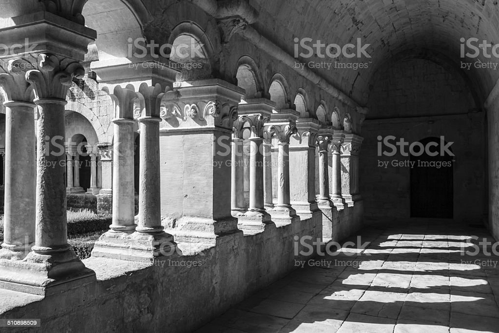 Old Abbey Galley stock photo