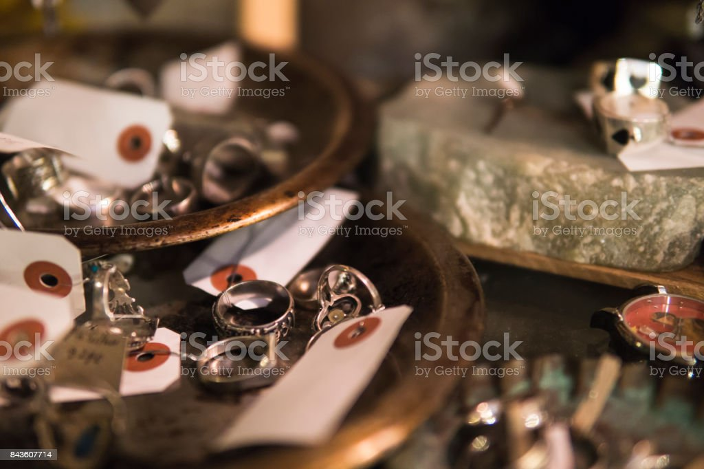 Old accessories stock photo