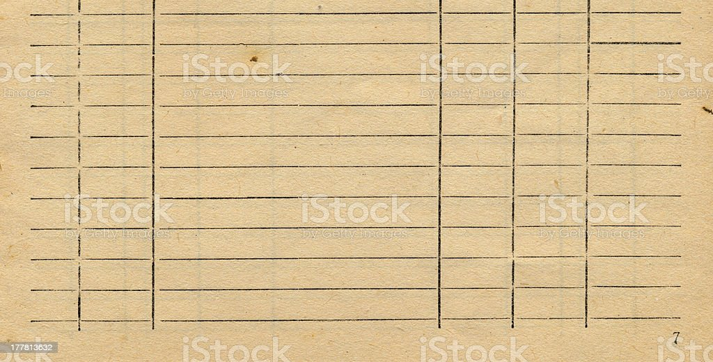 old accountancy book page paper background royalty-free stock photo