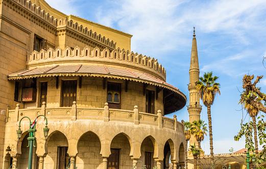 468444004 istock photo Old administrative building of Al-Azhar - Cairo, Egypt 465991512