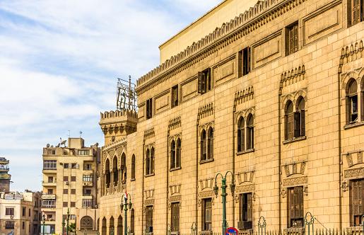 468444004 istock photo Old administrative building of Al-Azhar - Cairo, Egypt 466085014