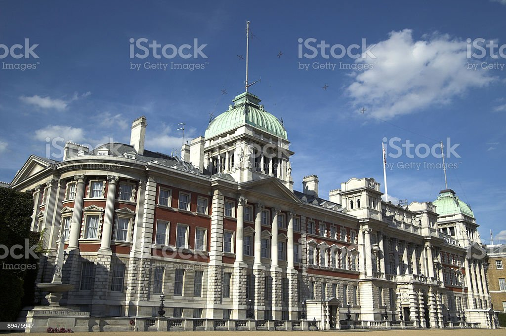Old Admiralty (London Whitehall) royalty-free stock photo