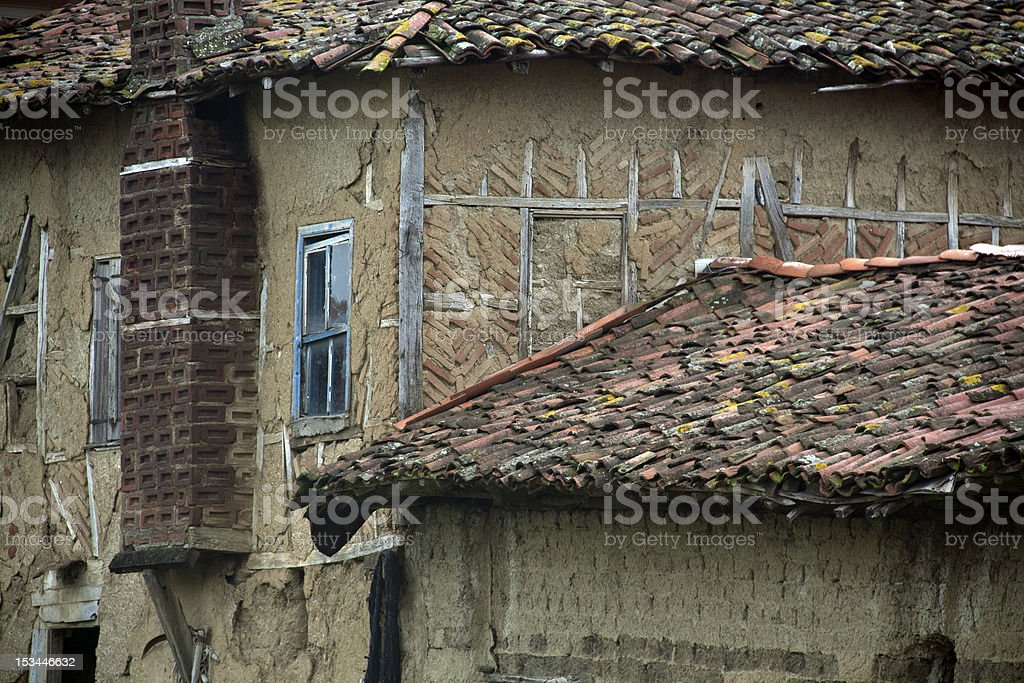 Old adobe building royalty-free stock photo