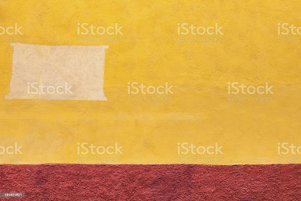 Old adobe wall stock photo