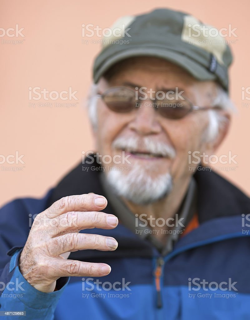 Old Age Disease stock photo
