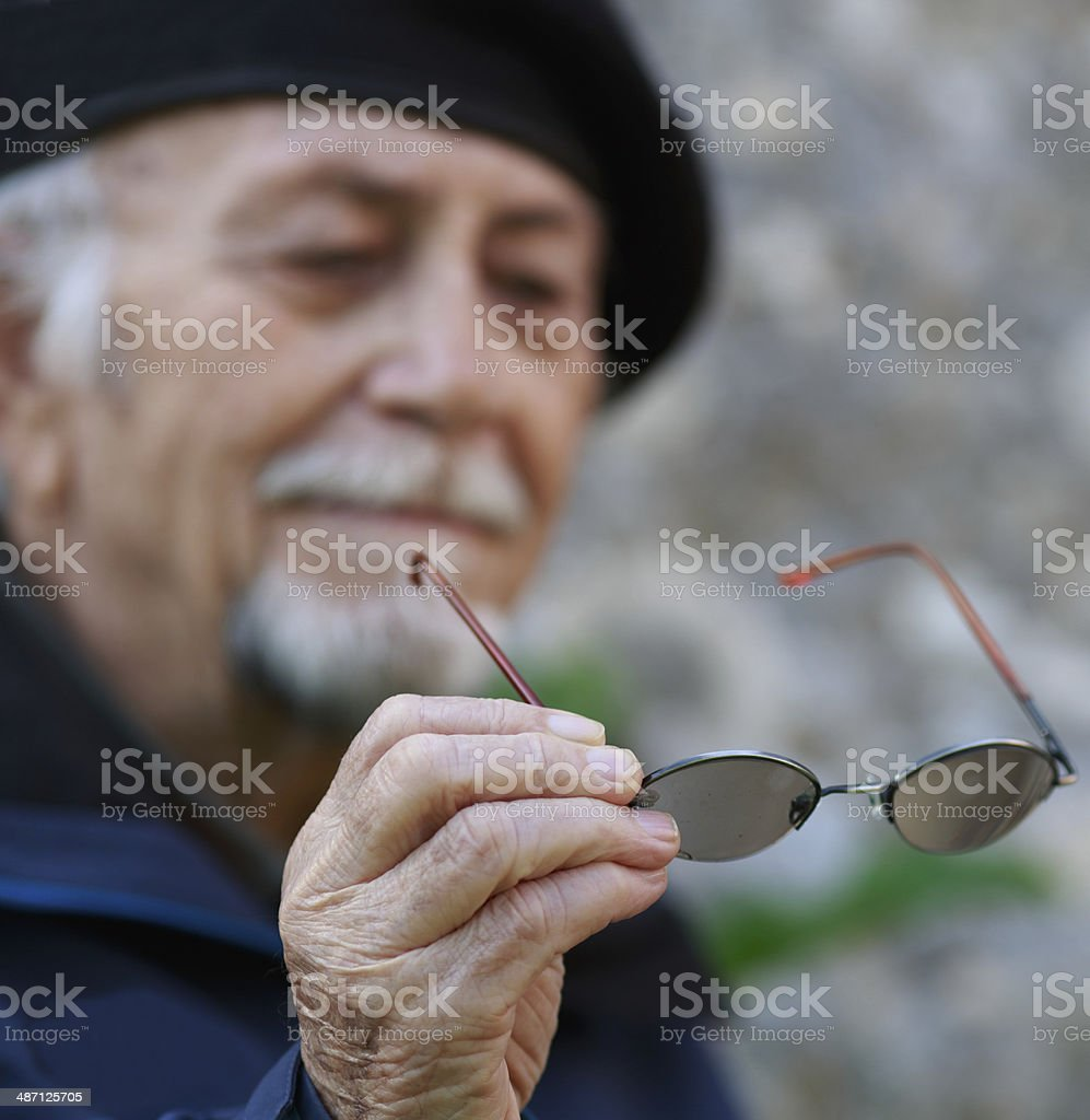 Old Age Disease stock photo