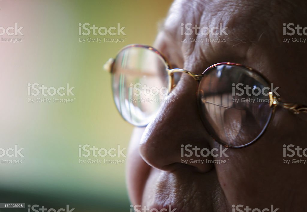 Old Age Eyes royalty-free stock photo