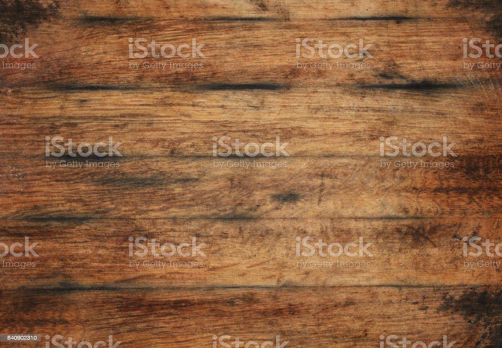 Textura de fundo velhas envelhecidas marrons pranchas de madeira - foto de acervo