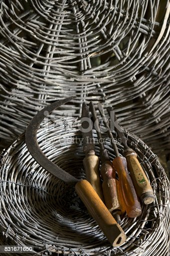 istock old agrarian tools 831671650